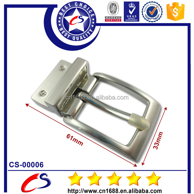 Promotional gifts stainless steel clip belt buckle clasp