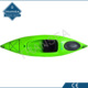 None inflation LLDPE plastic single seat fishing kayak