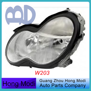 Front Headlight For Mercedes W203 Headlamp 2038200161 2038200261 A2038200161
