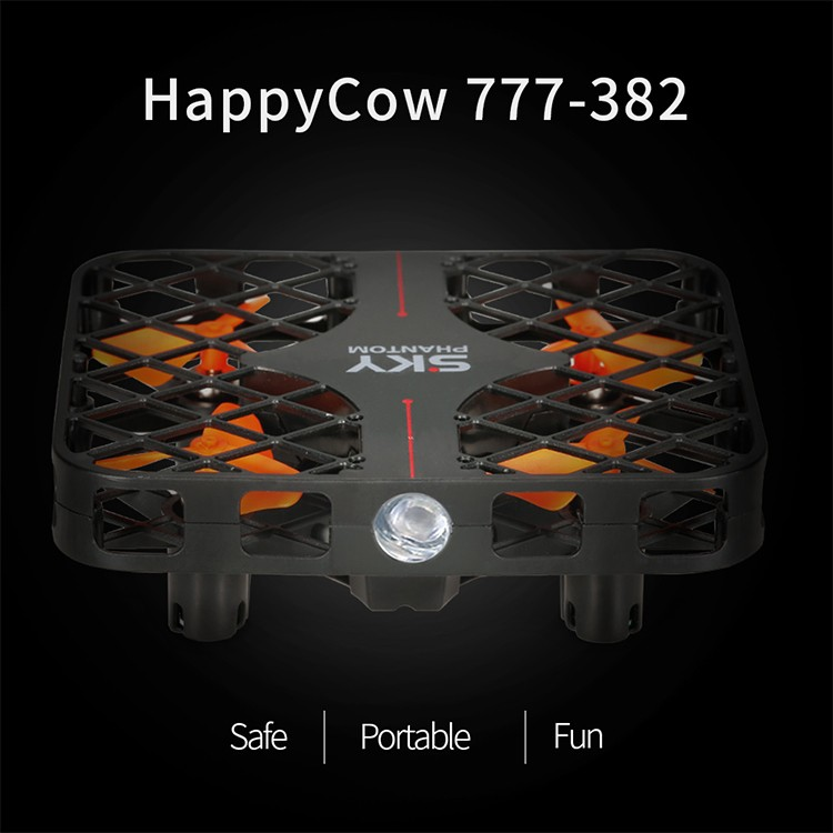 Happycow 777-382 Low Price Professional Led One-key Return Drone For Indoor  Flight - Buy Professional Drone,Led One-key Return Drone,Drone For Indoor