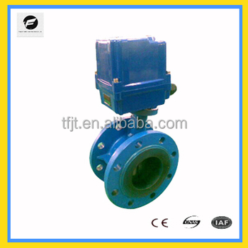 Ac220v actuator dn100 motorized operated butterfly control for Motor operated butterfly valve