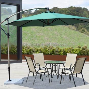 Merveilleux 10ft Offset Hanging Outdoor Market Patio Umbrella