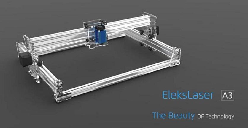 Eleksmaker Elekslaser A3 Pro 2500mw Laser Graveermachine Cnc Laser Printer Buy Lasergravure Printer Cnc Laser Printer Laser Printer Product On Alibaba Com
