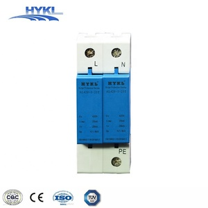 HYKL SGS Certificate! whole house surge protector Type 1 20KA 420Vac power supply spd