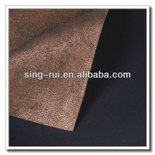 China PU Artificial Leather For Shoes
