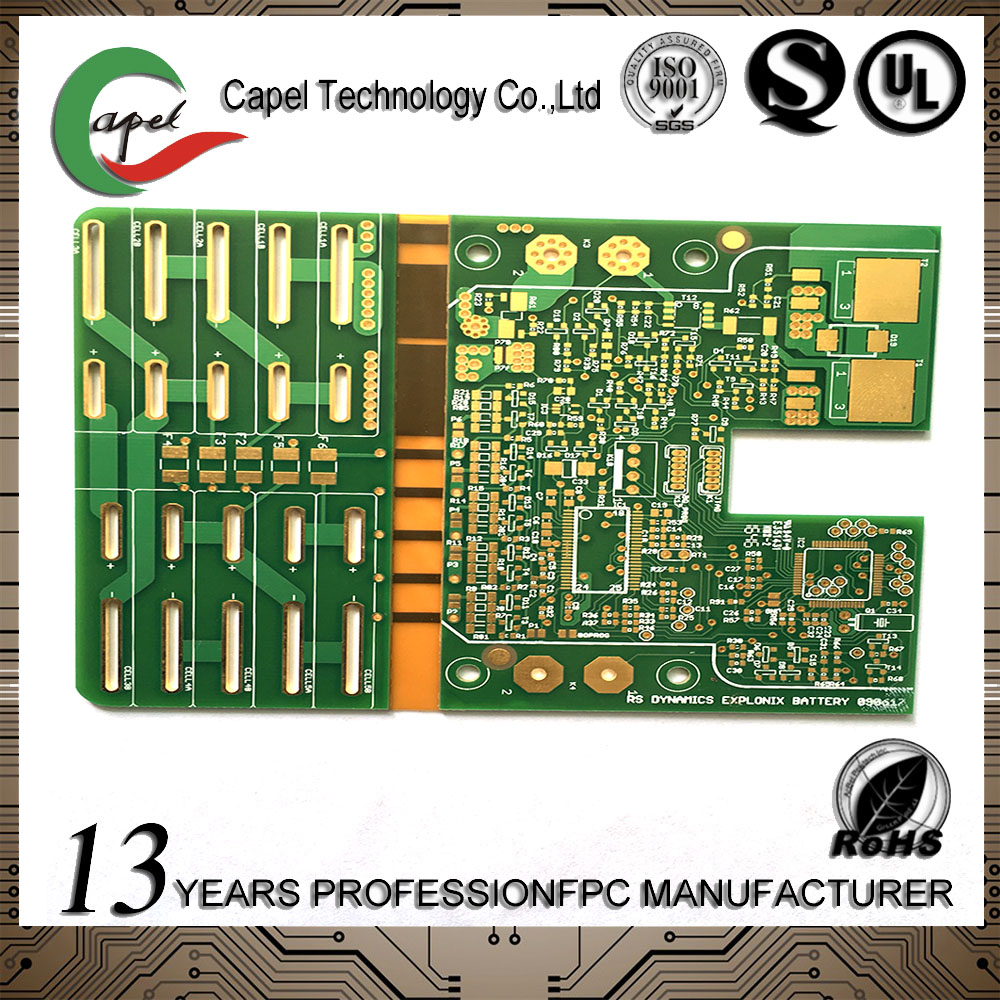 China Immersion Gold Fpc Wholesale Alibaba Printed Circuit Board Assembly Rigid Pcb A Double Layer