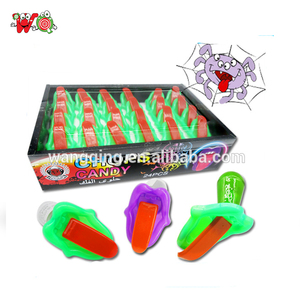 Popular helloween costume witch tongue toy lollipop