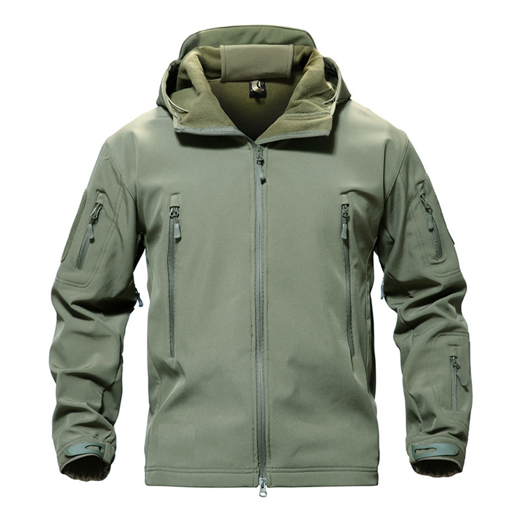 Custom Men Tactical Camo Softshell Fishing Waterproof  Jacket Men,Hiking Combat Jacket, Hunting Military Camouflage Coat