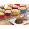 Wholesale Reusable Baking Cups Food Grade SiliconCake Mold Nonstick Easy Clean Pastry Muffin Molds