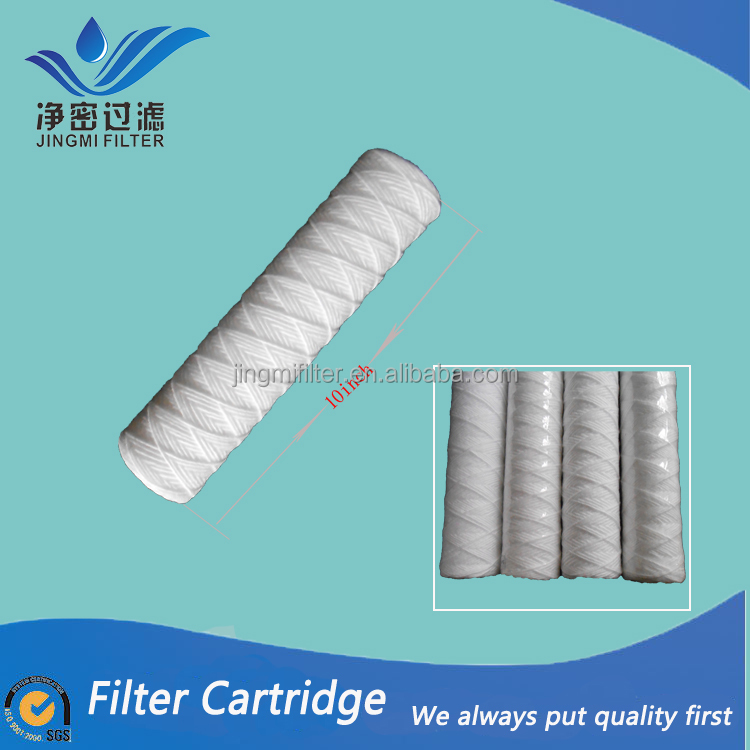 "PP 10"" 5 micron filter cartridge /pp water filter element/pp string wound filter cartridge for electroplate liquid filtration"