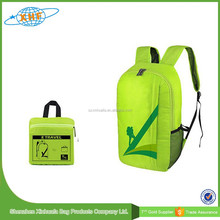 Warerproof Backpack Promotion Light Weight Travelling Foldable Backpack Nylon Waterproof Backpack OEM