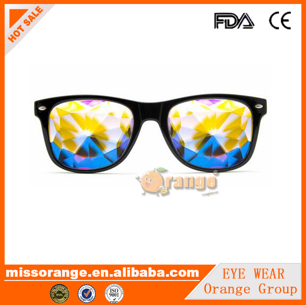 Music festival rave eyewear Diffraction Glasses kaleidoscope glasses designed by <strong>Orange</strong>