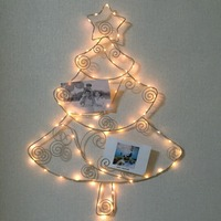 Light up battery powered led open signs led light christmas picture frame decoration for kids