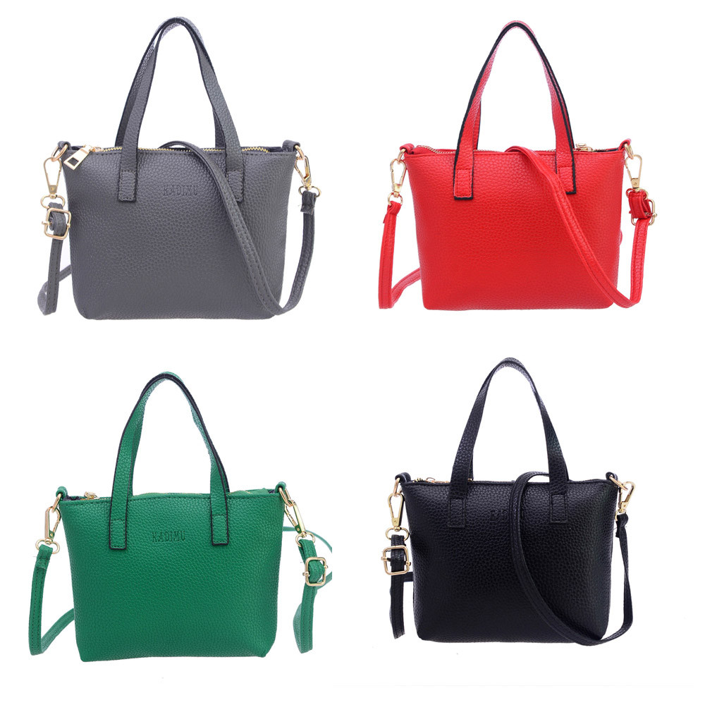 Fashion Handbag Quality Handbags Directly From China Shoulder Bags Suppliers 2017 Leather Solid Bag Women Large