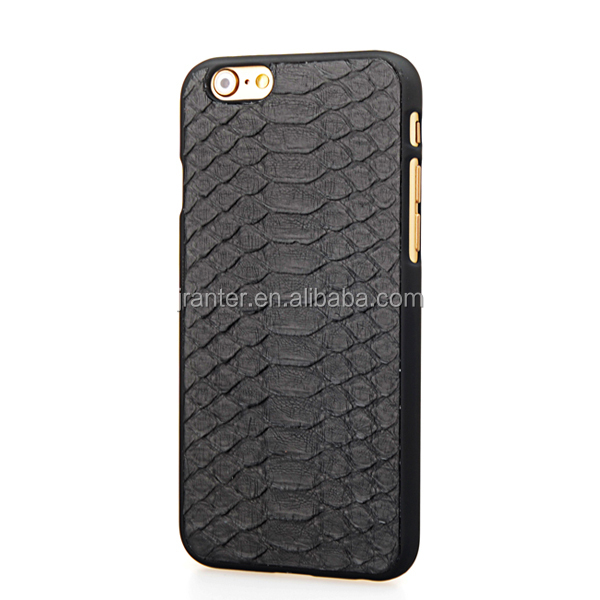 Customize for I phone 6 for i phone 7 Cell Phone Case 100% Python Snake Leather Wholesale