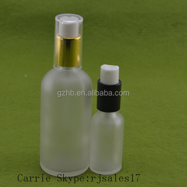 20ml 30ml clear frosted glass bottles e cig liquid e-juice liquid frosted cosmetic jars electronic cigarette liquid