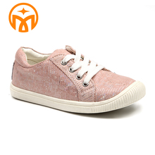 High quality color harmony cheap casual girls shoes for children