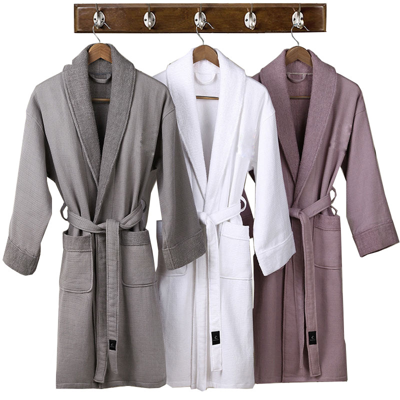 Velour Bathrobe,Hotel Bathrobe,Luxury Bath Robe