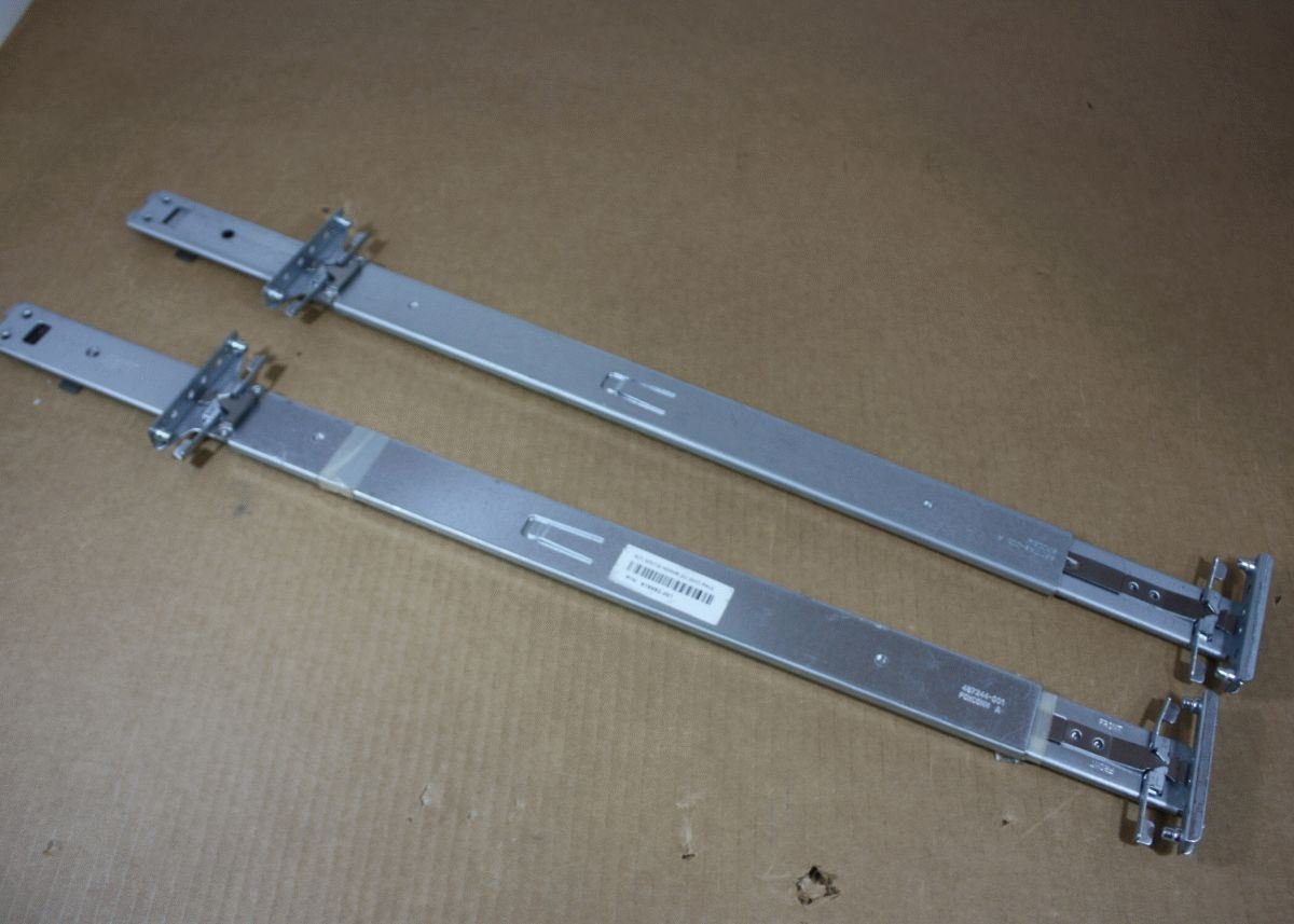 "Genuine HP Proliant DL380 G6 G7 DL385 G6 G7 Server Access Rail Kit 30"" Length Left and Right 487250-001"