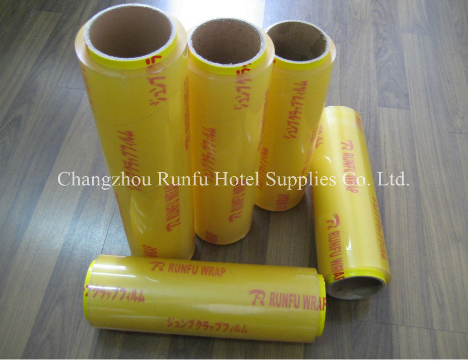 Wrap film stretch film PVC plastic packaging film dispenser