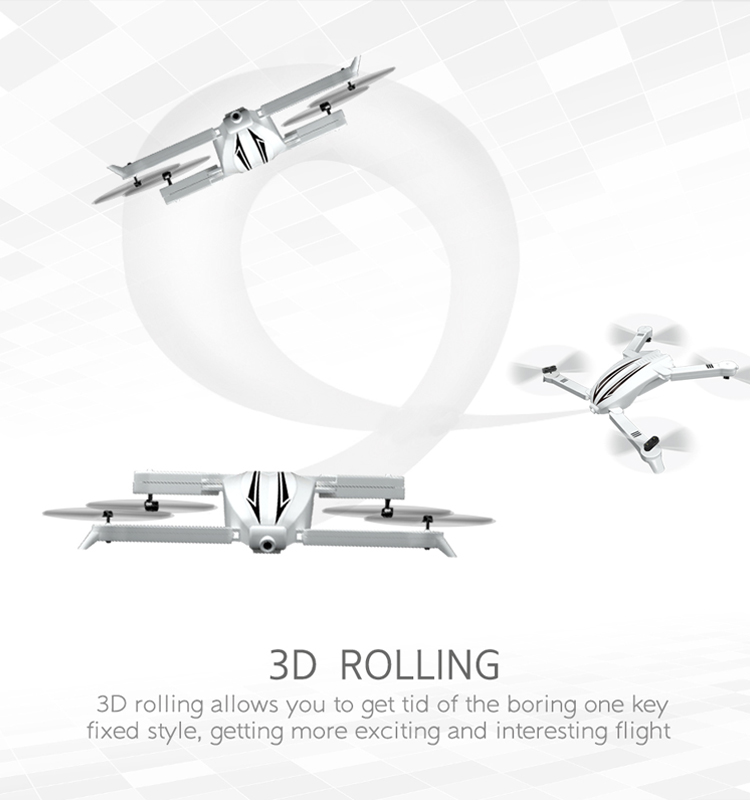 11. T13_White_Foldable_Mini_Selfie_Drone_with_720P_Wide_Angle_HD_Camera
