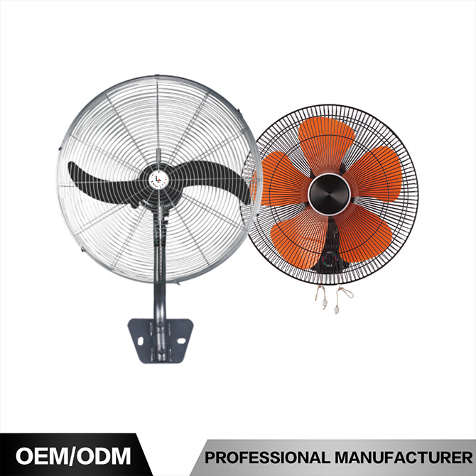 China Manufacturer 16 Inch Rotating Wall Fan Motor Spare Parts