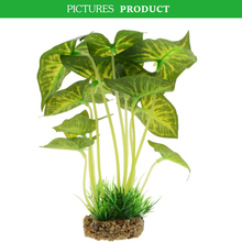 <span class=keywords><strong>Aquarium</strong></span> Decor Fish Tank Decoratie Ornament Kunstmatige Plastic Syngonium Plant 8.6 inch Tall
