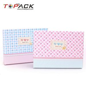 New sale sweet life cute black ribbed paper box