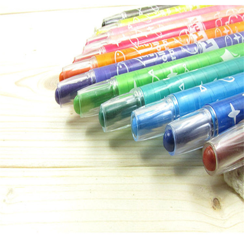 Bona 12/18/24 color oil pastel crayons rotation Children toxic stationery