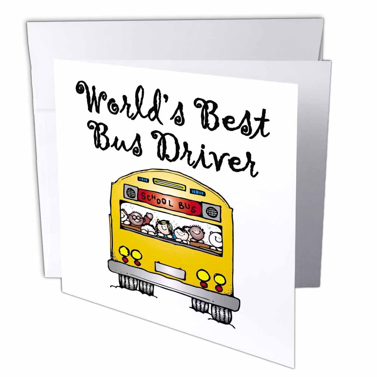 Buy Evadane Funny Quotes Worlds Best Bus Driver Greeting