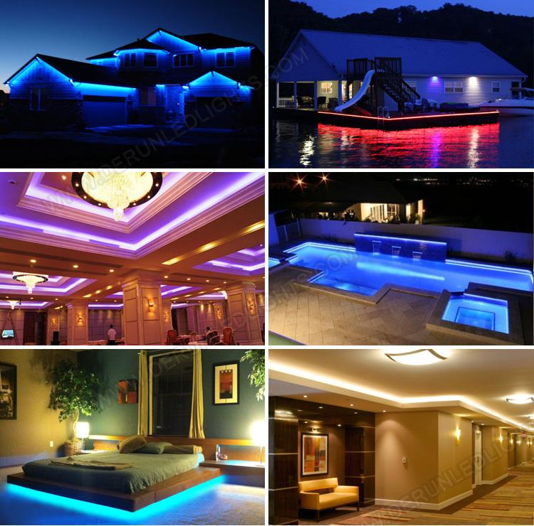 smd 12 volt led strip indoor outdoor led strip light
