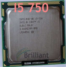 Core i5 750 Quad Core Processor 2.66GHz 8MB Cache LGA1156 Desktop I5-750 CPU