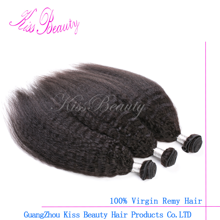 best price cheap virgin Peruvian kinky straight hair with competitive