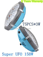 New bloom led grow light 225W UFO led grow light 2015 super large coverage for growbox