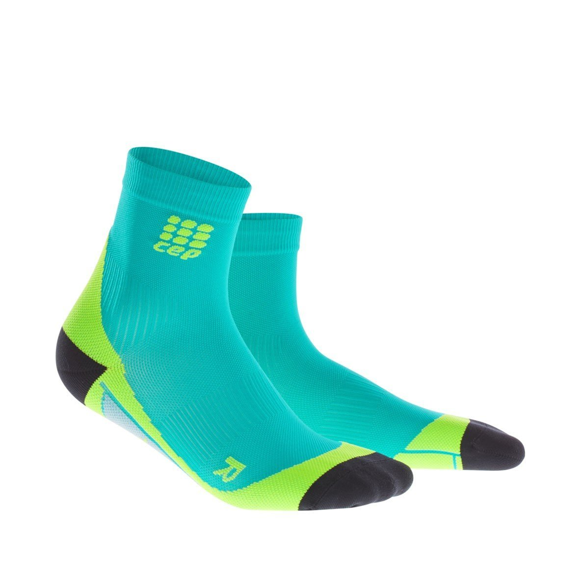 CEP Women's Dynamic+ Short Socks with Compression and Light, Breathable Fit for Cross-Training, Running, Recovery, Tiathletes, and all Endurance and Team Sports