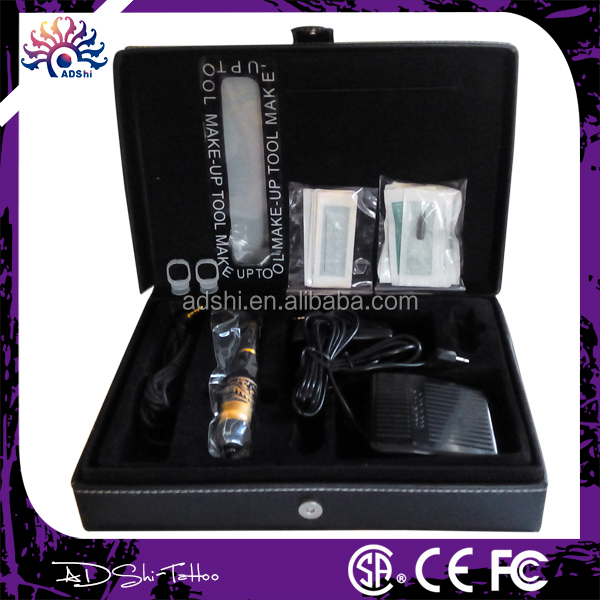 Permanent Makeup Kit , permanent makeup machine eyebrow tatoo machine kit for beginner