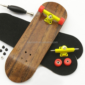 Wholesale wood finger skateboard with designs
