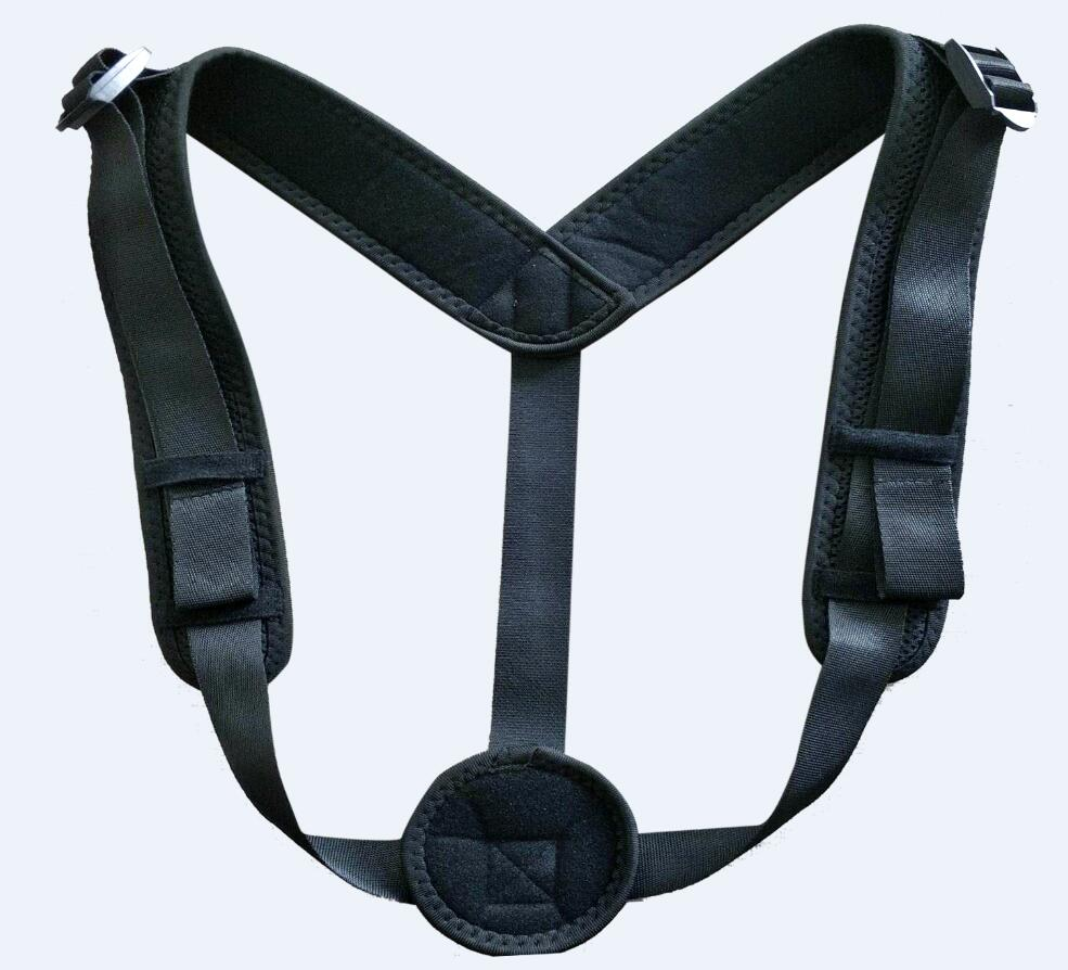 Economical Basical Type Back Brace Posture Corrector Clavicle Posture Corrector, Black or customized color