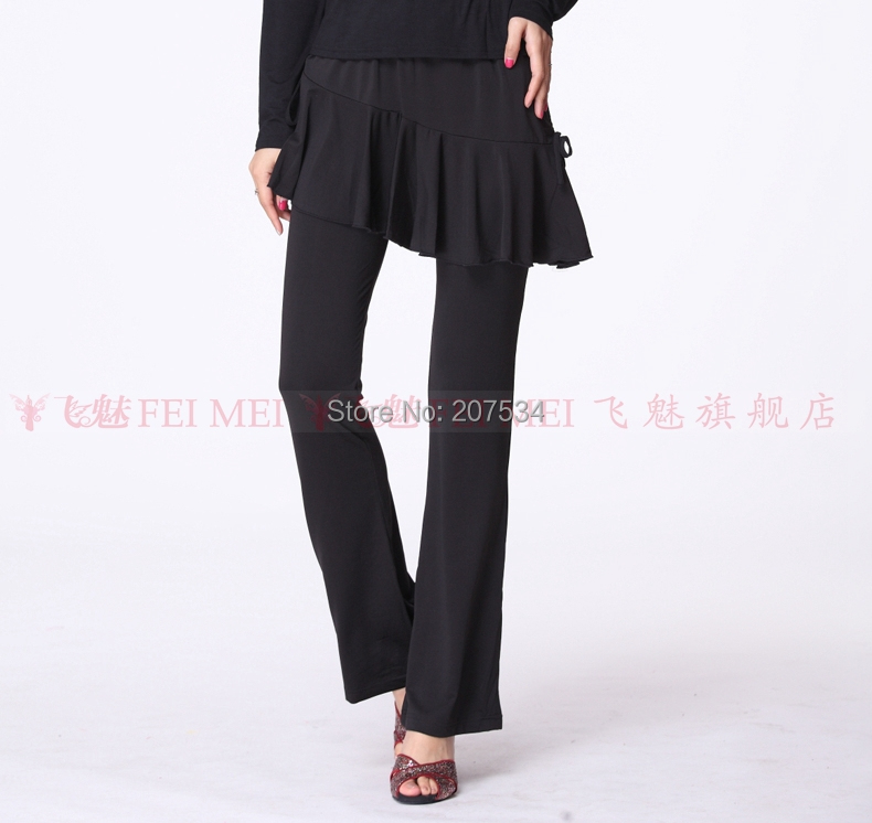 bcdf5fab14562 Get Quotations · Autumn winter women's belly square dance pants belly  dancing trousers milk silk square dancing bilateral drawstring