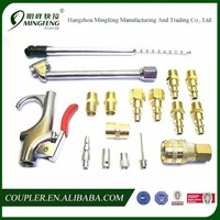 Air Tool Accessory Set Kit Quick Connect Couplers Brass