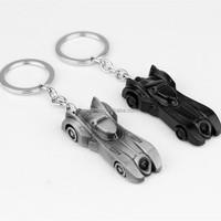Custom Batmobile Car Key Chain Auto Key Holder Batman Motorcycle Metal Keychain
