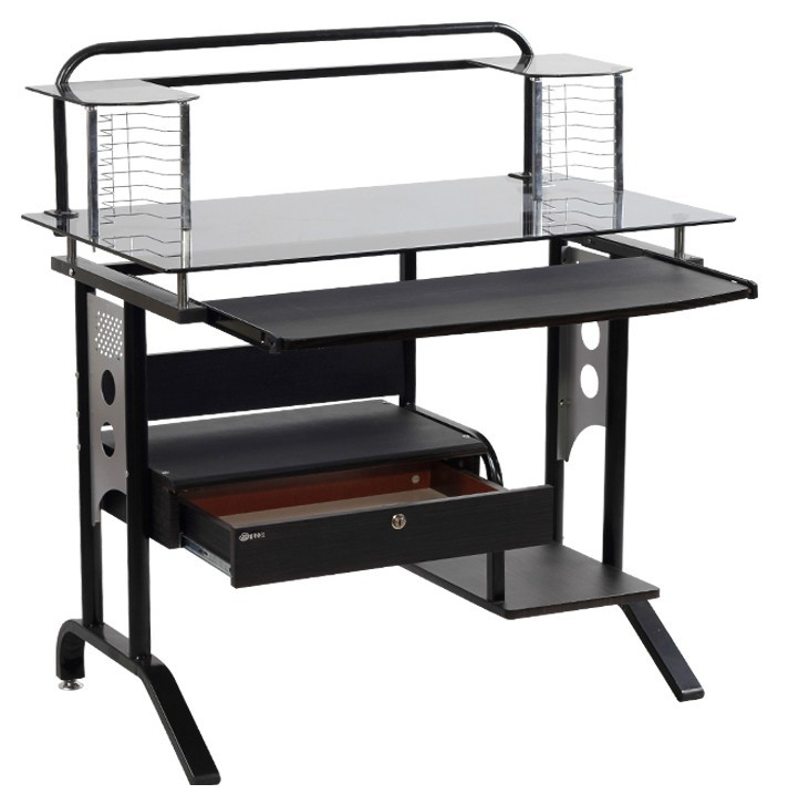 get quotations latest models 90cm glass computer desk with drawers ikea desk cheap desk fashion