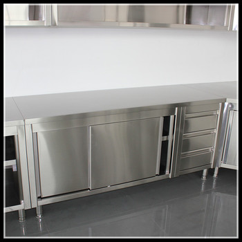 Stainless Steel Kitchen Storage Cabinets Kitchen Cabinet Commercial Stainless Steel Kitchen Storage Cabinet
