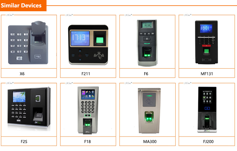 Iface7/Multibio700 With 1500 Face Capacity Linux System Face And Fingerprint Recognition Time Attendance Access Control System