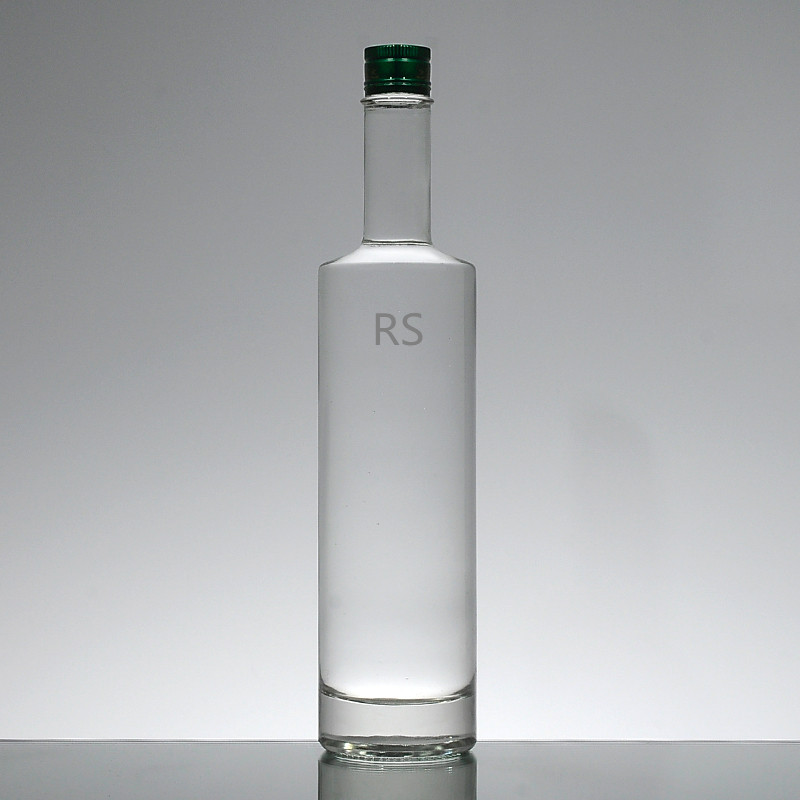 Low price empty glass vodka bottle vodka container for sale