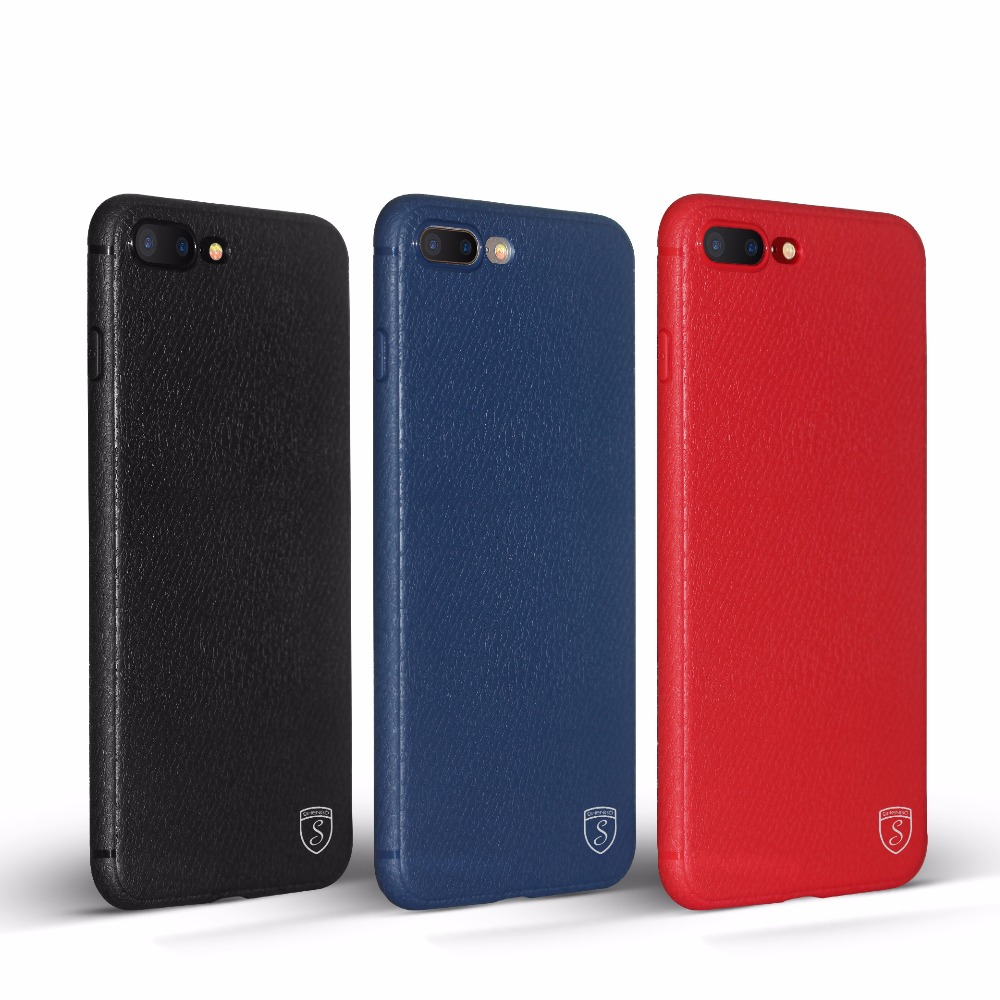 SHENGO Hot Selling Business Style Matte Finishing Leather Texture TPU Cases for iPhone5/5s