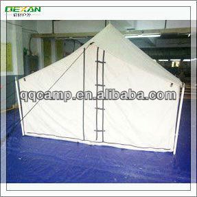 Waterproof White Canvas camping tentcabana tent for family