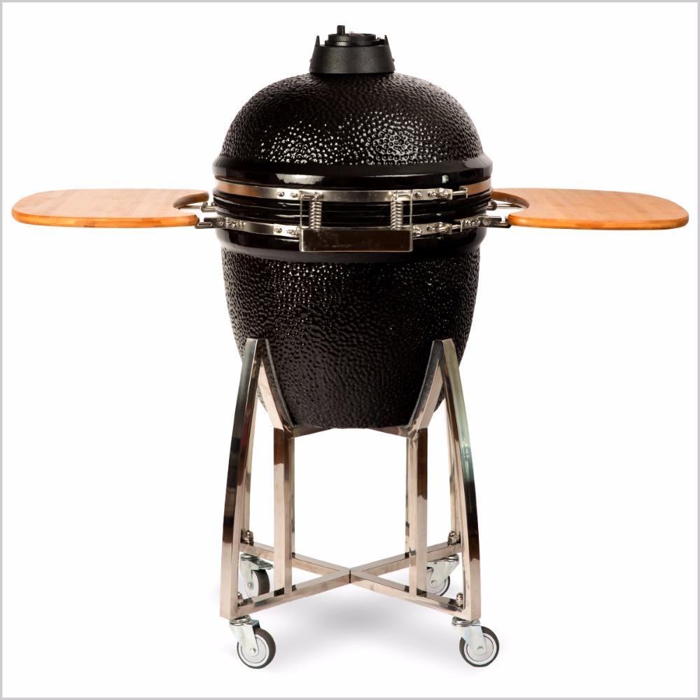 Table top kamado ceramica barbecue a carbone barbecue gri grill