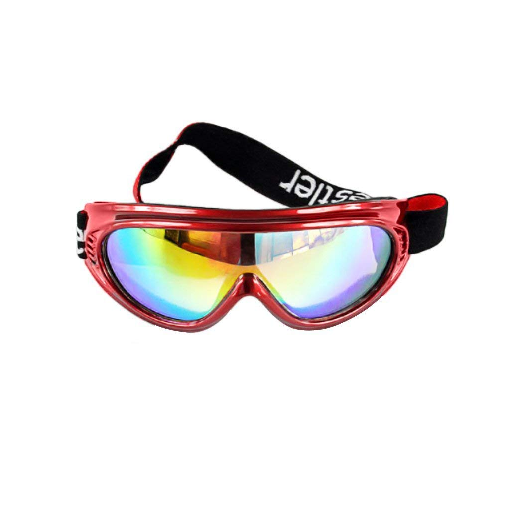 fa4296ddec6b Get Quotations · BXT Kid UV400 Ski Snow Googles Outdoor Sun Glasses  Windproof Motorcycle Snowmobile Snowboard Goggles Eyewear Airsoft
