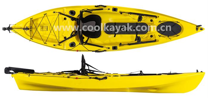 Cheap lldpe sea kayak 10 feet dace pro angler fishing for Cheap fishing kayaks